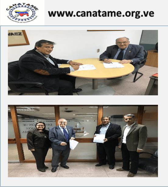 Carta de Intención con la Universidad Central de Venezuela (Dirección de Extensión Universitaria)