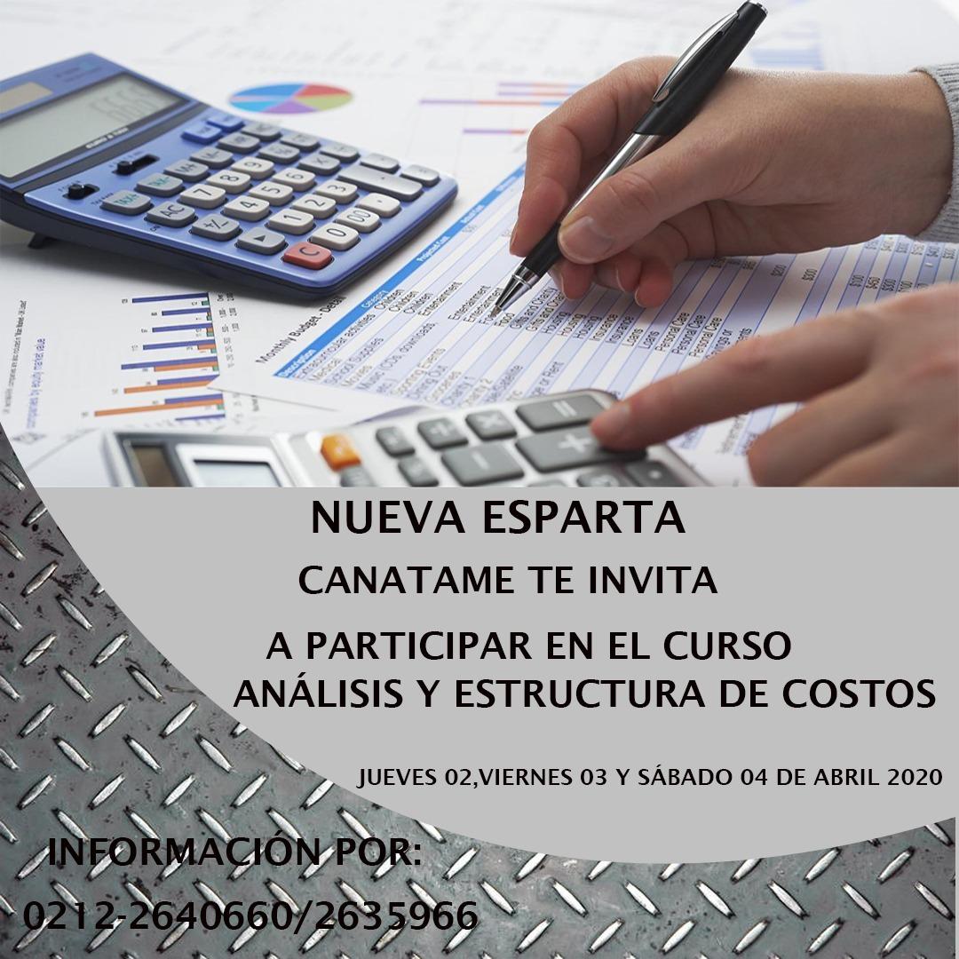 En este momento estás viendo Curso Análisis y Estructura de Costos para Talleres y Aspectos Legales.