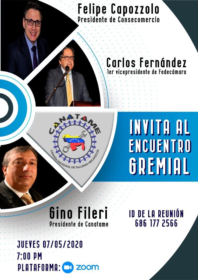Encuentro Gremial FEDECÁMARAS, CONSECOMERCIO Y CANATAME