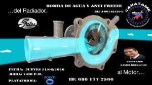 Bomba de Agua y Anti Freeze