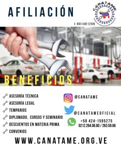 BENEFICIOS DE AGREMIARSE A CANATAME