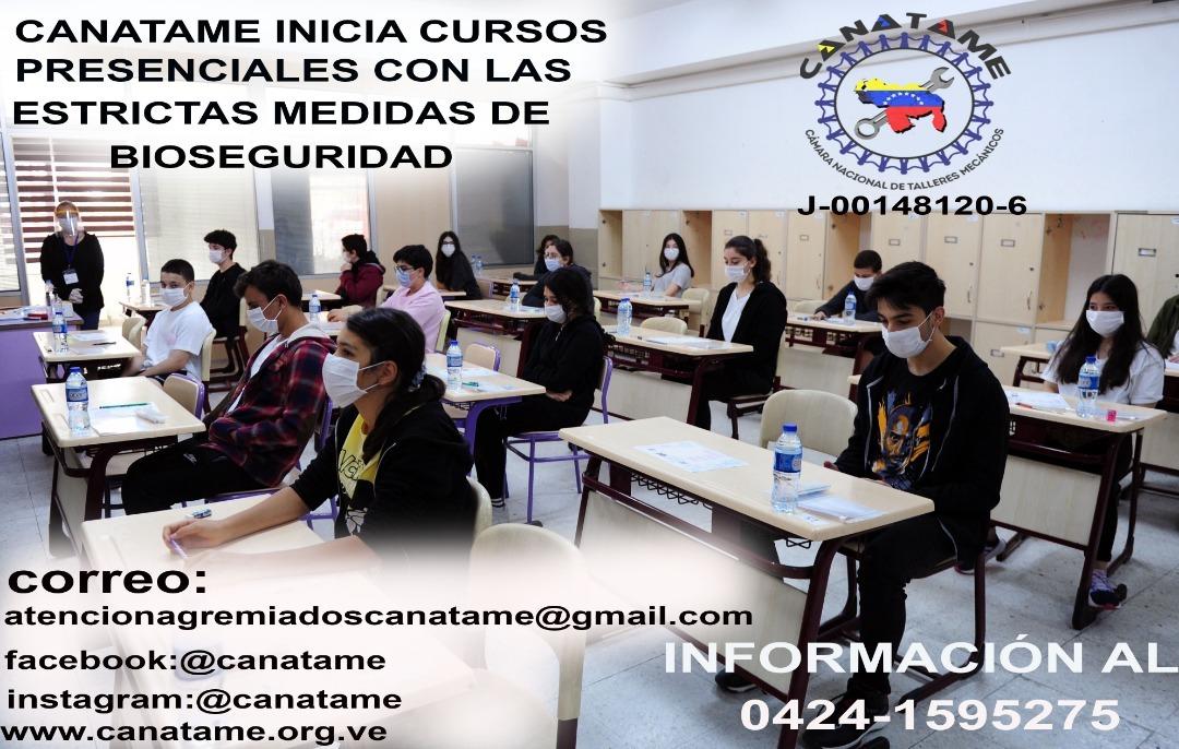 INICIO CURSOS EN CANATAME
