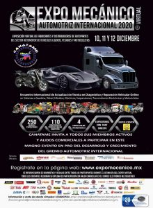 EXPO MECÁNICO AUTOMOTRIZ INTERNACIONAL 2020 (DICIEMBRE)