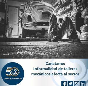 INFORMALIDAD DE TALLERES MECÁNICOS AFECTA AL SECTOR