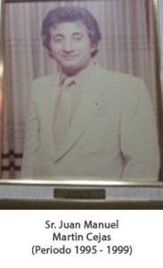Juan Manuel martin cejas. Periodo 1995 — 1999