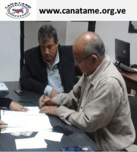 Convenio Marco de Cooperación con el Colegio de Ingenieros de Venezuela