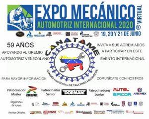CANATAME PRESENTE EN LA EXPO MECÁNICA VIRTUAL EN MÉXICO