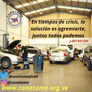 CANATAME DE LA MANO CON EL GREMIO AUTOMOTRIZ