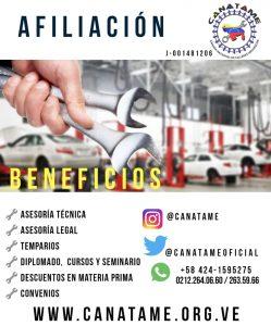 BENEFICIOS DE AGREMIARSE A CANATAME