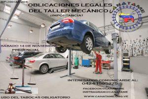 OBLIGACIONES LEGALES PARA TALLERES MECÁNICOS