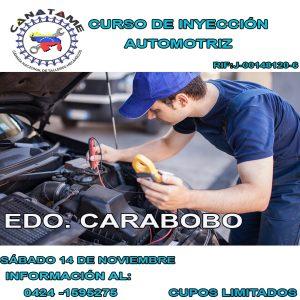 Lee más sobre el artículo CURSO INYECCIÓN AUTOMOTRIZ (VALENCIA, ESTADO CARABOBO)