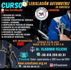CURSO LEGISLACIÓN AUTOMOTRIZ
